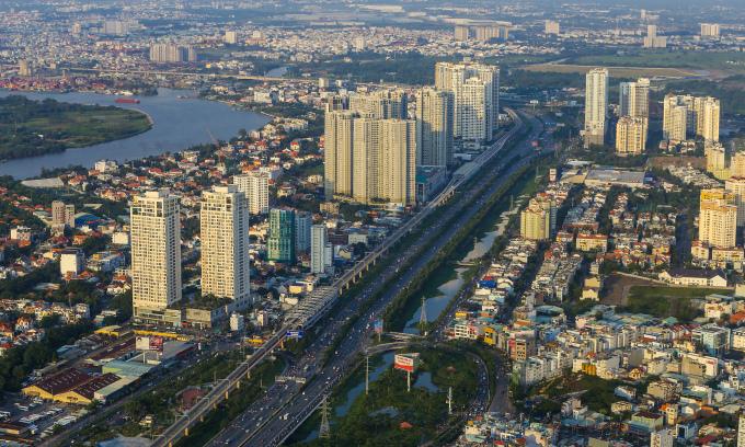 Bất động sản khu Đông TP HCM. Ảnh: Quỳnh Trần