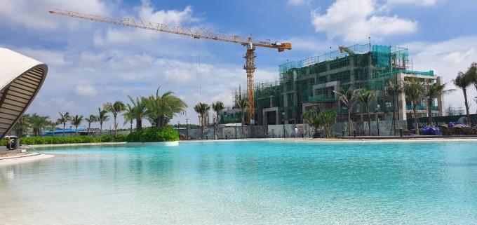 Công trình thi công tại khách sạn Hotel Ho Tram MGallery.