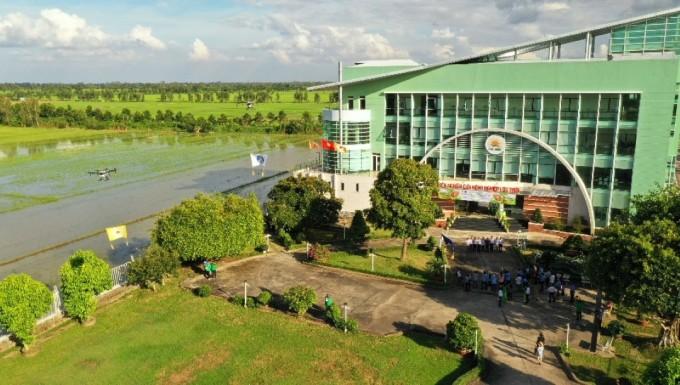 Viện nghiên cứu nông nghiệp Lộc Trời tại An Giang thành lập tháng 7/2020.