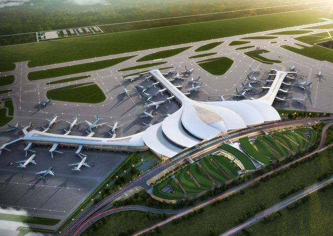 Phối cảnh sân bay Long Thành. Nguồn ảnh