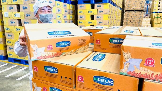 Bột dinh dưỡng RiDielac hương vị chà là được Vinamilk phát triển cho các nước khu vực châu Phi, Trung Đông nhằm đáp ứng khẩu vị người dân địa phương. Ảnh: Vinamilk