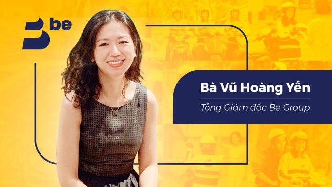Bà Vũ Hoàng Yến, Tân Tổng Giám đốc Be Group. Ảnh: Công ty cung cấp