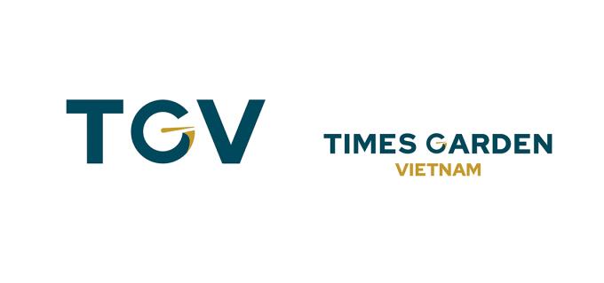 Hình ảnh nhận diện thương hiệu mới của Times Garden Việt Nam - Công ty CP Vườn Thời Đại Việt Nam.