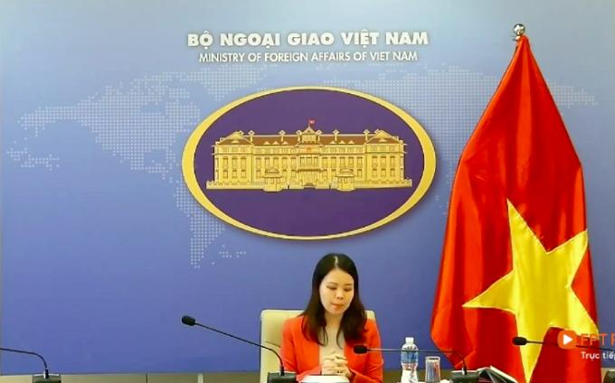 Bà Nguyễn Minh Hằng - Trợ lý Bộ trưởng, Vụ trưởng Vụ Tổng hợp Kinh tế, Bộ Ngoại giao Việt Nam.
