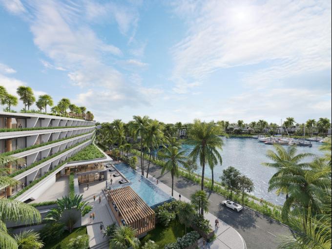 Phối cảnh dự án Sailing Club Residences Ha Long Bay