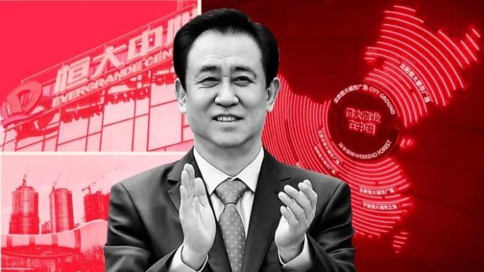 Chủ tịch Evergrande Xu Jiayin. Ảnh: Reuter, đồ hoạ bởi FT