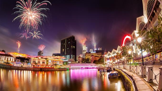 Các nước trên thế giới đã tiên phong kiến tạo thành phố thịnh vượng hai bên sông. Ảnh: Shutterstock