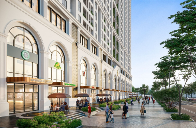 Tổ hợp nghỉ dưỡng, vui chơi, giải trí đa tiện ích được kỳ vọng đưa Thái Bình thành điểm sáng về bất động sản. Ảnh: BIDGroup