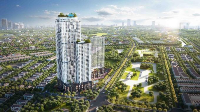Dự án BID Residence tại phía tây nam Hà Nội. Ảnh: BIDGroup