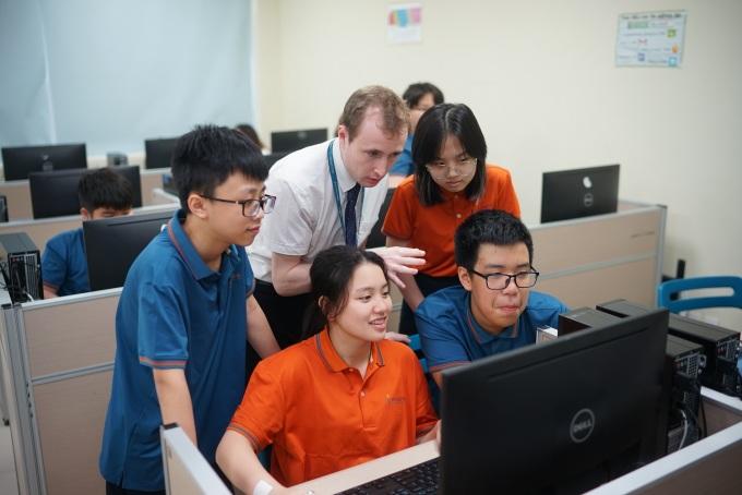 Đội ngũ giáo viên số hóa chất lượng là nền tảng để Wellspring triển khai quá trình chuyển đổi số.