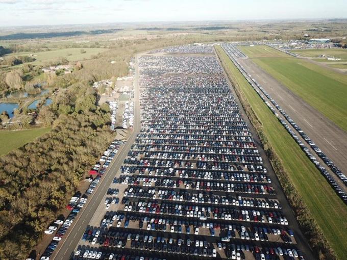 Một khu lưu trữ, bảo quản ôtô của Cox Automotive.