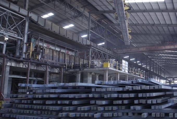 Sản xuất phôi thép tại một nhà máy ở Hải Dương. Ảnh: Anh Minh
