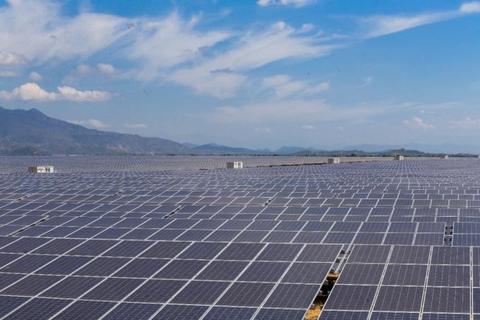 Cụm nhà máy điện mặt trời của BIM Energy tại Quán Thẻ, Ninh Thuận đạt tổng công suất 405 MWP