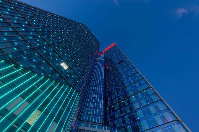 Tòa tháp văn phòng TechnoPark Tower. Ảnh: Vinhomes