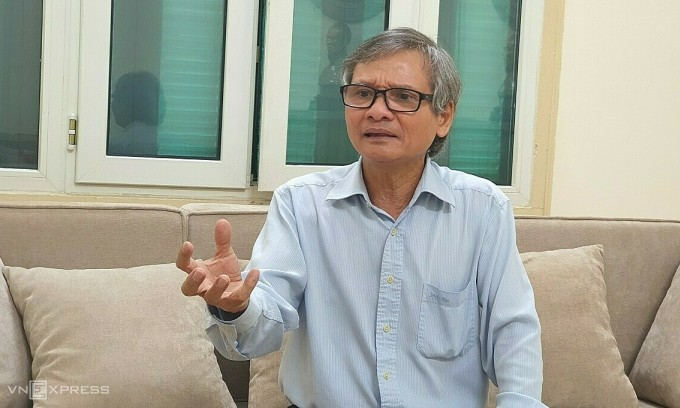 Ông Trương Văn Phước, nguyên Quyền Chủ tịch Uỷ ban giám sát tài chính quốc gia. Ảnh: Phương Ánh