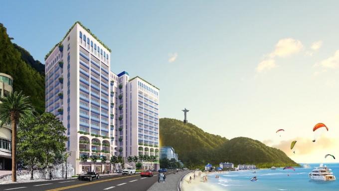 Phối cảnh dự án Léman Cap Residence.