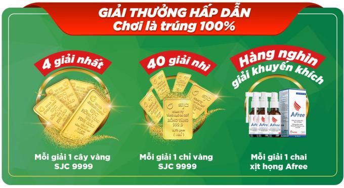 Giải thưởng nhân dịp sinh nhật Thái Minh.
