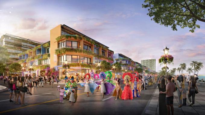 Phối cảnh những vũ điệu sôi nổi của lễ hội carnival đường phố. Ảnh: Flamingo